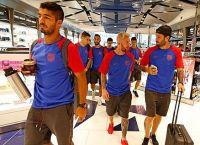 Обновленный Месси с командой отправляется в тренировочный лагерь