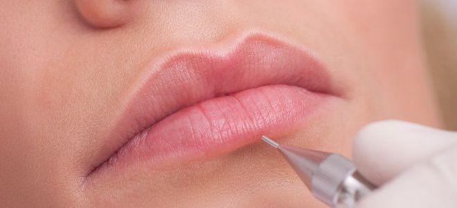 Виды перманентного макияжа губ светлый кайал