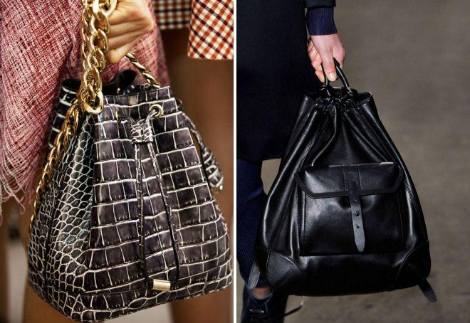 женский маленький черный рюкзак