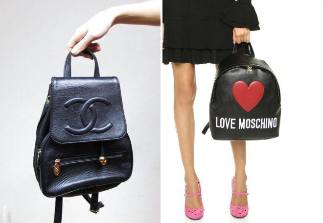 маленькие женские рюкзаки для города
