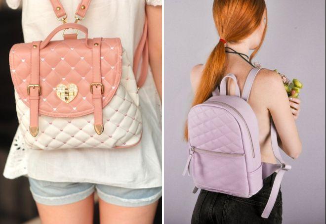 красивые маленькие рюкзаки