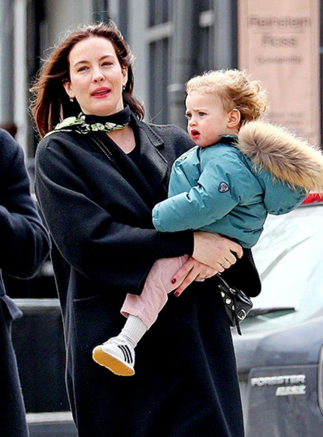 Лив Тайлер с дочерью