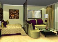 Pokój dzienny w pokoju 7