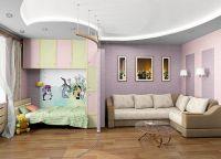 Pokój dzienny i pokój dziecinny w jednym pokoju4