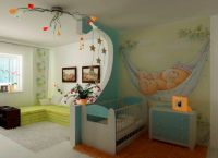 Pokój dzienny i pokój dziecięcy w jednym pokoju5