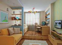 Pokój dzienny i pokój dziecinny w jednym pokoju6