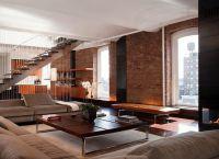 Pokój dzienny w stylu loftu5
