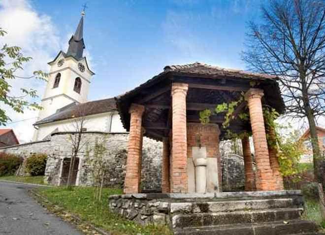 Интересная архитектура города Логатец