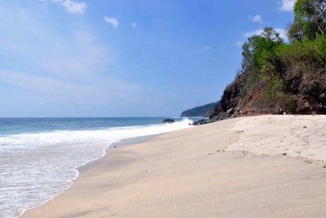 Один из пляжей Ломбока