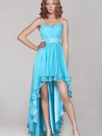 Duga haljina kratka prednja strana 2