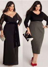 Дугачке хаљине за гојазне жене 1