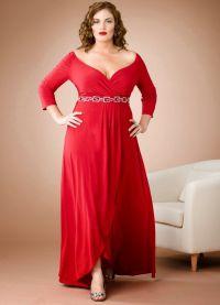 Дугачке хаљине за пуне жене 3