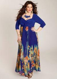 Дугачке хаљине за гојазне жене 4