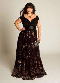 Дугачке хаљине за пуне жене 7