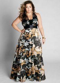 Дугачке хаљине за гојазне жене 9