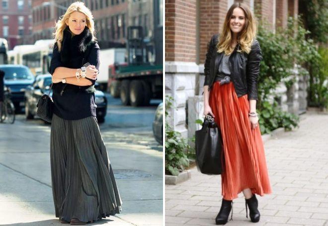 piękne długie spódnice