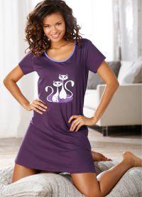 Дълги тениски за жени 6
