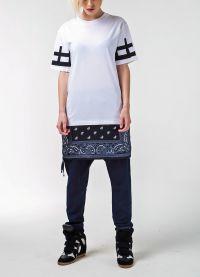 Дълги тениски за жени 7