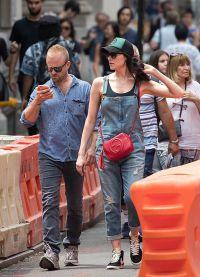 Лора и Бен на июльском фестивале в Нью-Джерси