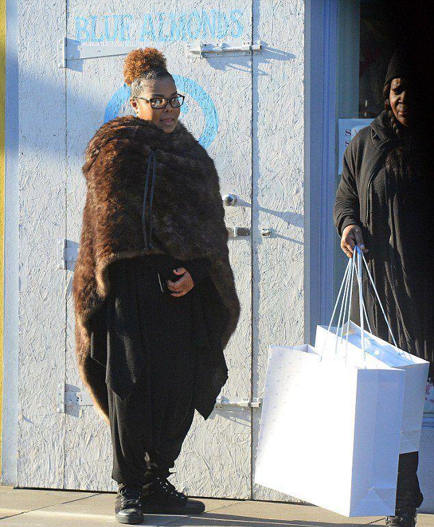 Джанет Джексон на улицах Лондона