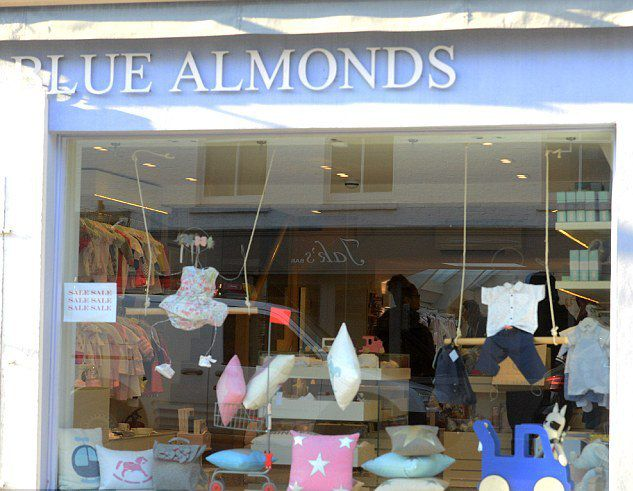 Магазин  Blue Almonds