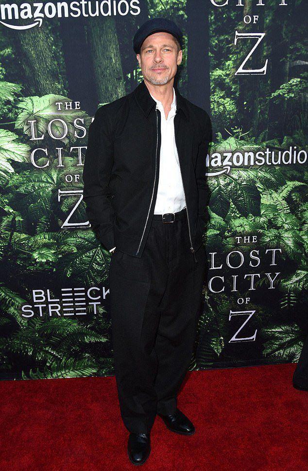 Брэд Питт на премьере нового фильма