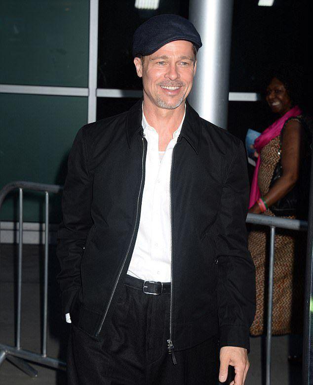 Брэд Питт посетил премьеру фильма