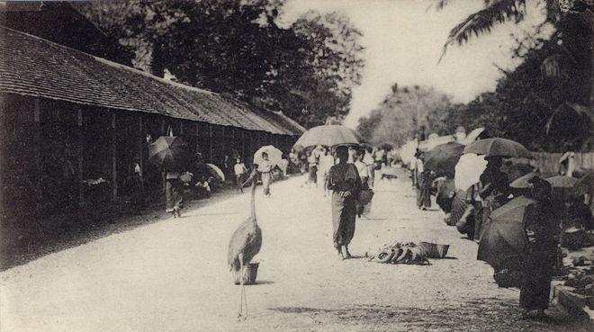 Старинное фото Луанг Прабанга