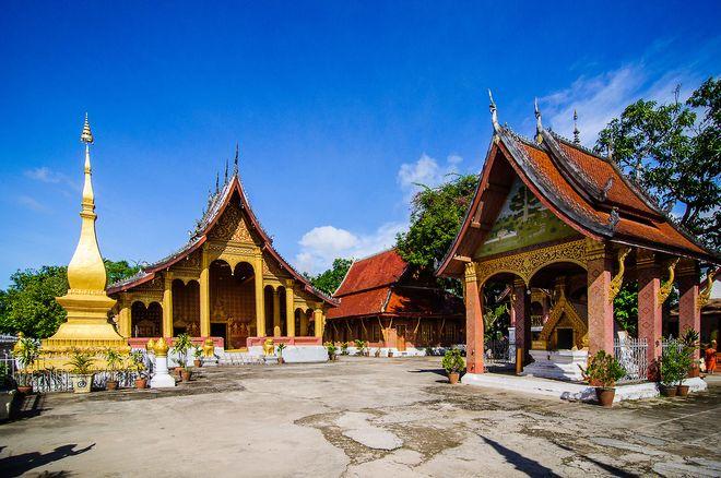 Буддийские храмы в Луанг Прабанге