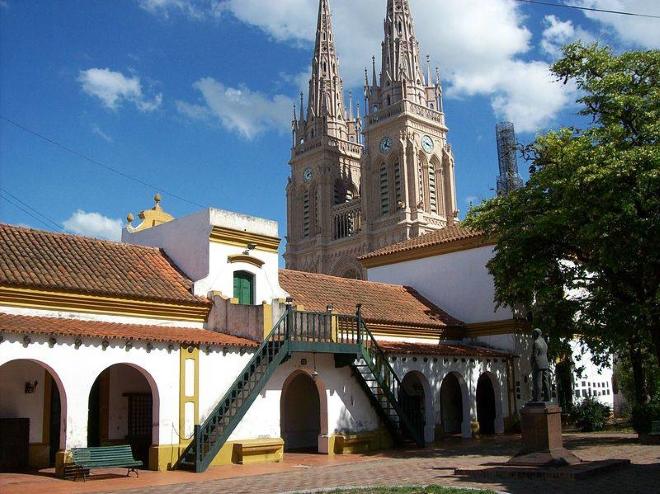Базилика и общежитие для паломников