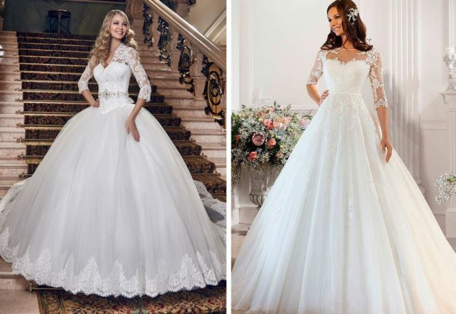 svěží svatební šaty 1