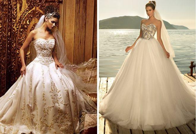 Krásné svatební šaty 10