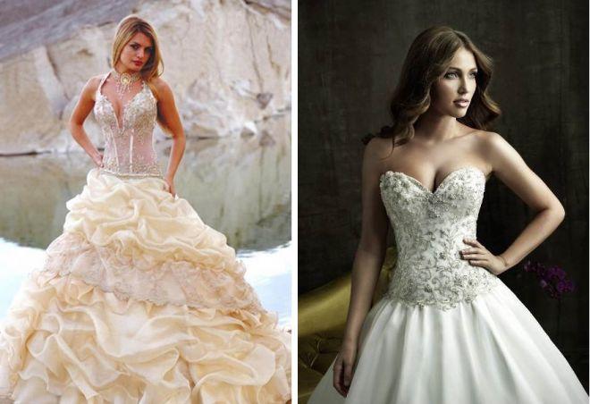 Krásné svatební šaty 13