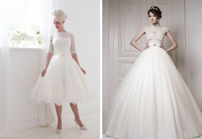 Krásné svatební šaty 14
