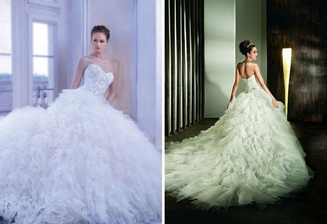 Krásné svatební šaty 3