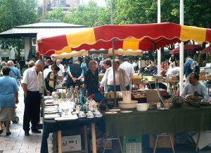 Блошиный рынок в Люксембурге