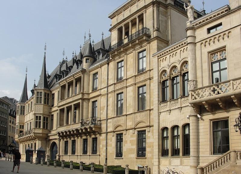Дворец великих герцогов в Люксембурге