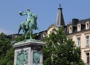 Конная статуя Вильгельма II