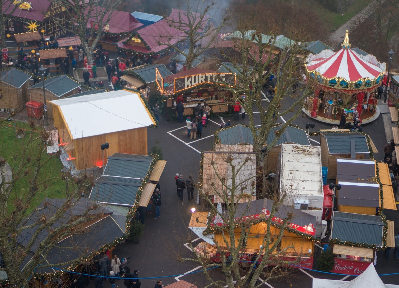 Новогодняя ярмарка в Люксембурге