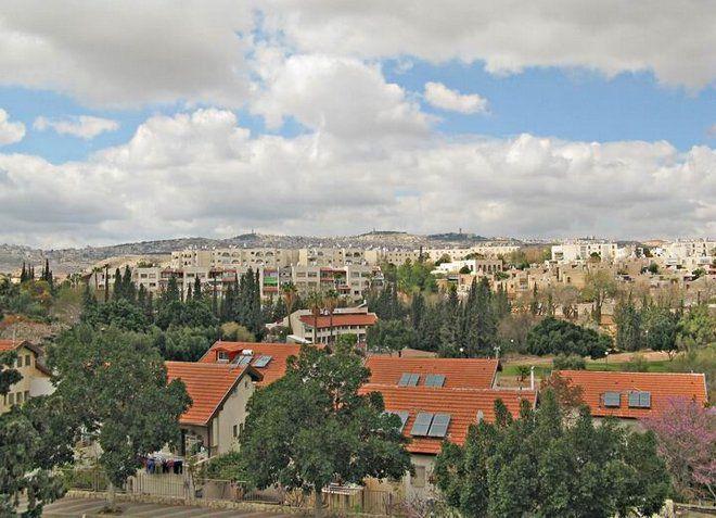 Вид на Маала-Адумим