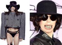 Леди Гага со вставной челюстью