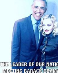 Мадонна рассказала о своих политических пристрастиях