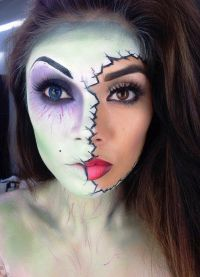 make-up pro Halloween 1