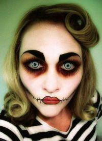 šminka za Halloween 3