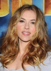 Šminka, stil, slika Scarlett Johansson 1