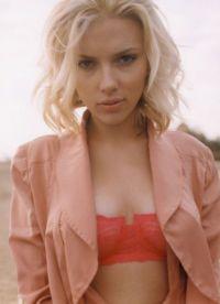 Šminka, stil, slika Scarlett Johansson 2