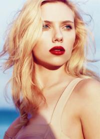 Šminka, stil, slika Scarlett Johansson 3