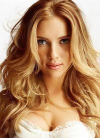 Šminka, stil, slika Scarlett Johansson 5