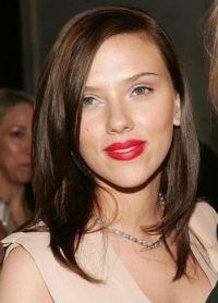 Šminka, stil, slika Scarlett Johansson 6