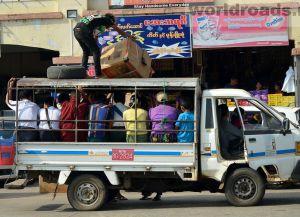 Городская маршрутка - не самое приятное средство передвижения